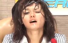 Bukkake announcer Maria Ozawa