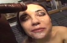 Sasha Grey Facial Fest
